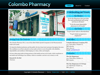 Colombo Pharmacy PLC