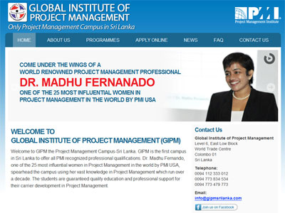 Global Institute of Project Management, Sri Lanka