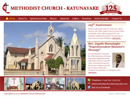 Methodist Church, Katunayake, Sri Lanka