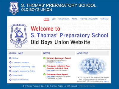 S. Thomas' Preparatory School - Old Boys Union