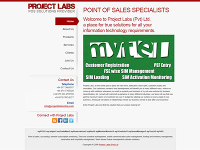 Project Labs (Pvt) Ltd