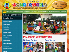 P G Martin Wonderworld (Pvt) Ltd, Sri Lanka